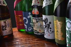 広島の地酒も多数 取り揃えております