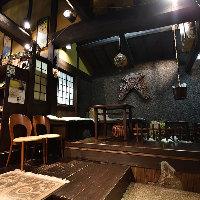 【空 間】 江戸末期に建てられ130年以上の歴史を見て来た本館