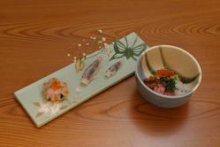 寿司での〆、丼での〆、 お好みでお選び下さい