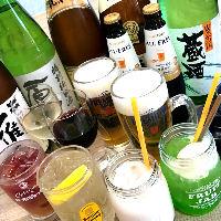 種類豊富な飲み放題もご用意しております☆