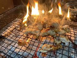炉端焼きメニューもございます!焼きたてをどうぞ!