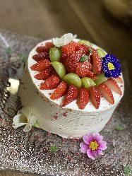 お誕生日はケーキでお祝い!