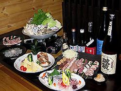 美味しい料理とともに  ☆美酒鍋コース☆