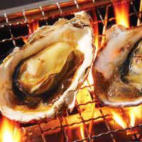 料理50種、飲み物70種の牡蠣付き食べ飲み放題が破格の4,500円♪