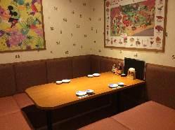 【座敷最大80名様】 テーブル席,掘りごたつ,個室など多数あり♪