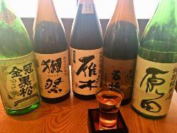山口の地酒も豊富です♪ 獺祭、貴、雁木、東洋美人!