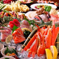 自慢の魚介類を新鮮なままご提供致します!