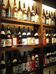 種類豊富な焼酎・日本酒・ワイン カクテルなどを楽しんで下さい