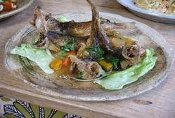お魚料理も自慢です。 鳥取産天然お魚をご堪能あれ!