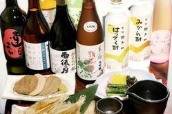 優しい甘さと上品な香り… 広島のお酒をご賞味ください。