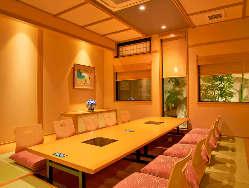 和の風情あふれる個室席をご用意
