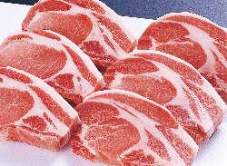 鹿児島県産おごじょ豚豚などを用いた豚かつはどれも絶品