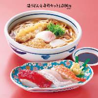 寿司やうどん、天ぷらなどの和食メニューを豊富にご用意!