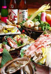 肉、魚、野菜、それぞれの素材の旨みを最大限に引き出します。