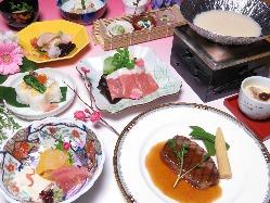 〇お豆腐のコース 古都