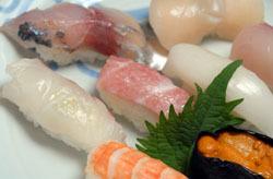 にぎり寿司 瀬戸内の旬を味わって下さい。