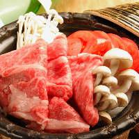 和牛とトマトのすき焼