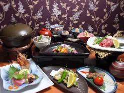 旬の食材を使った、季節を感じる和風創作料理をご堪能ください♪