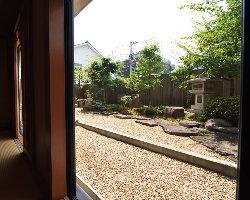 全室から庭が見渡せます!