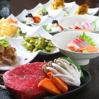 【コース】 岡山の食材を贅沢に堪能できるコースを多数ご用意