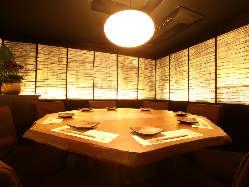 ■□VIPルーム・縁卓□■等々 思いのままの完全個室…
