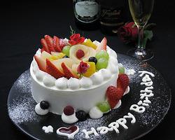 特別な日にどうぞ! ホールケーキをご用意★