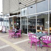 ◆テラス席◆ ペットと一緒にランチやカフェタイムを楽しめる!