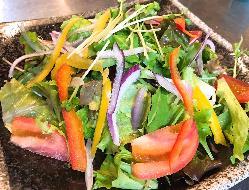 野菜もたっぷり♪ 森崎農園さんの10種類のお野菜サラダ