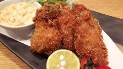 広島産牡蠣フライ 自家製タルタルで