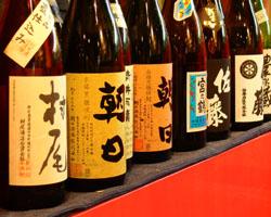 焼酎50種以上、梅酒20種以上、ノンアルコールドリンクも充実。