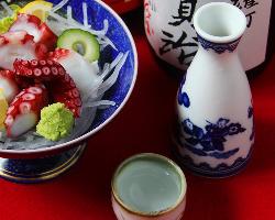 店主自ら厳選した豊富な日本酒は、お料理との相性抜群です!