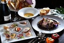 伝統的なフレンチをスタイリッシュにアレンジした大人気の前菜。
