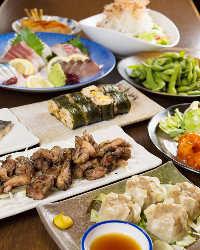 各種ご宴会には飲み放題付コースのご利用が最適◎料理のみもOK!
