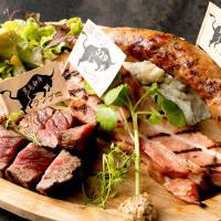黒毛和牛ステーキを楽しむ!グリル盛り合わせ3種がおすすめ!