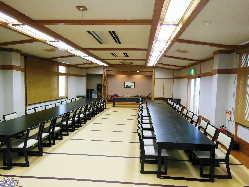 宴会場は約40畳の大広間.最大70名様まで.40名の中広間もあります