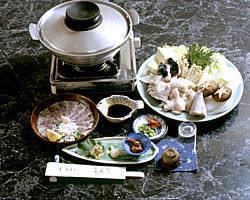 ふく,かき,鍋料理コース(3月中旬迄) 5500円税別ふくコース