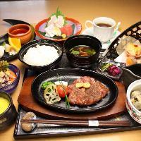 「ステーキ御膳」は追加料金にてお肉を黒毛和牛に変更可能です