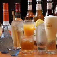 ビールに・カクテル・ノンアルコールなど多彩なラインナップ!