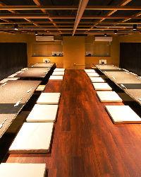 最大30名様まで可能なご宴会個室をご用意しております。