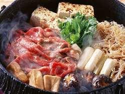 田舎野菜と鶏すき焼き