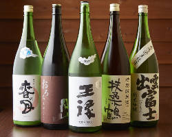▼唎酒師厳選日本酒
