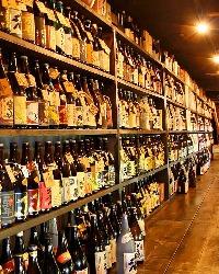 銘柄焼酎&梅酒が約3000本 あなたのお好みもご用意あります♪