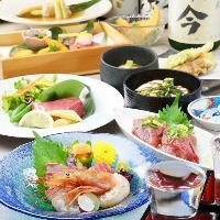 飲み放題付き宴会コースは5000円からご用意。