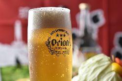 沖縄といえばオリオンビールで乾杯!!