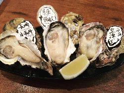 全国の牡蠣を 食べ比べもおすすめ!