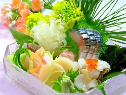 ☆一品一品にこだわった旬の鮮魚をお楽しみ下さい
