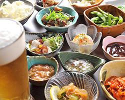 鉄板料理,一品料理も豊富にご用意!! 家族連れ大歓迎です!