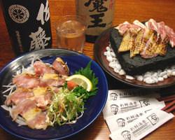 県内でもやぁしか取扱いがない石見銀山赤どりのステーキです。