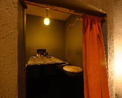 和モダンな個室は8名まで利用可