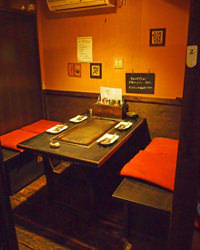 【テーブル個室】4名様までOK!